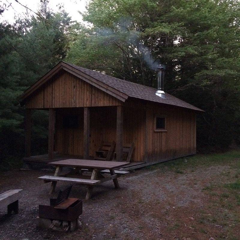 Late summer camping at Keji's Wil-Bo-Wil cabin