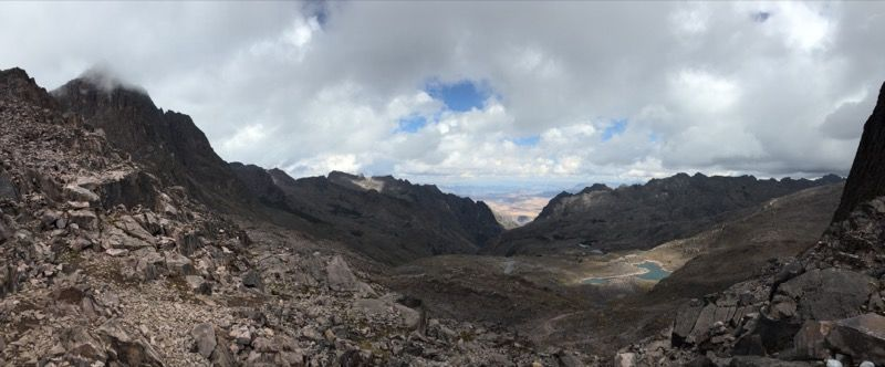 Finally made it to the top, 4800m