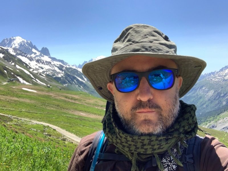 The obigatory mountain hiker selfie