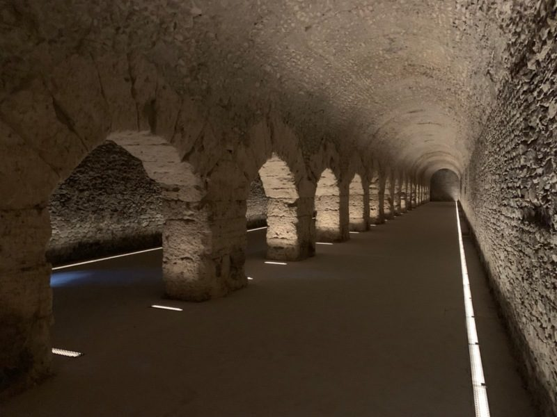 The cryptoporticus in Aosta