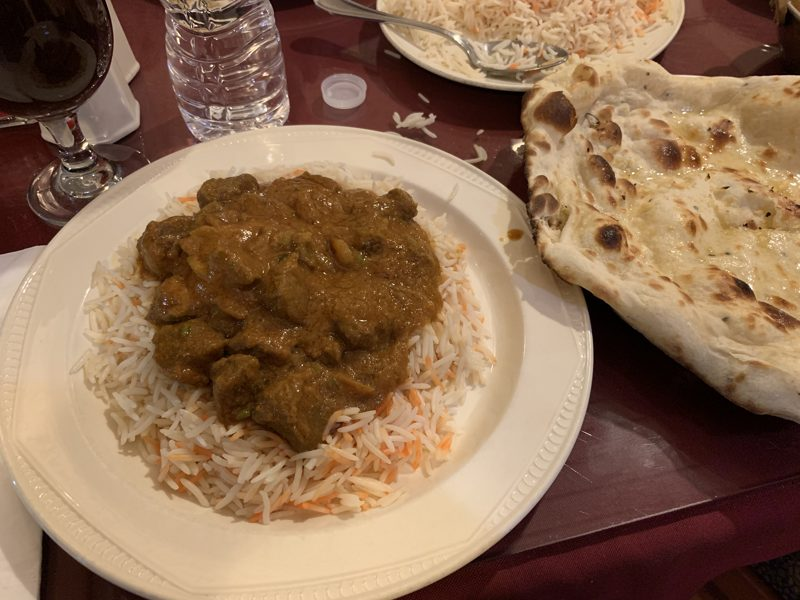 Checked in: Curry Village Indian Restaurant