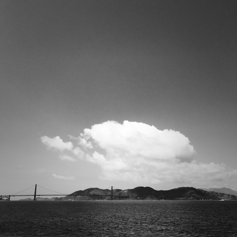 Clouds over the Golden Gate Bridge