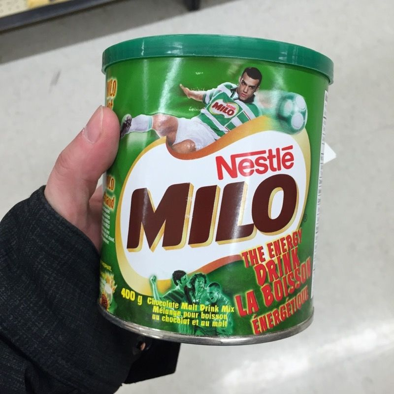 Milo, drink of the tired, hungry trekker