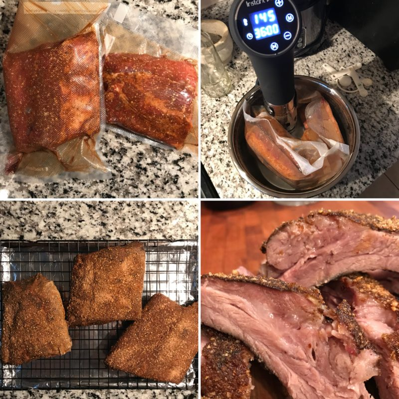 First sous vide experiment