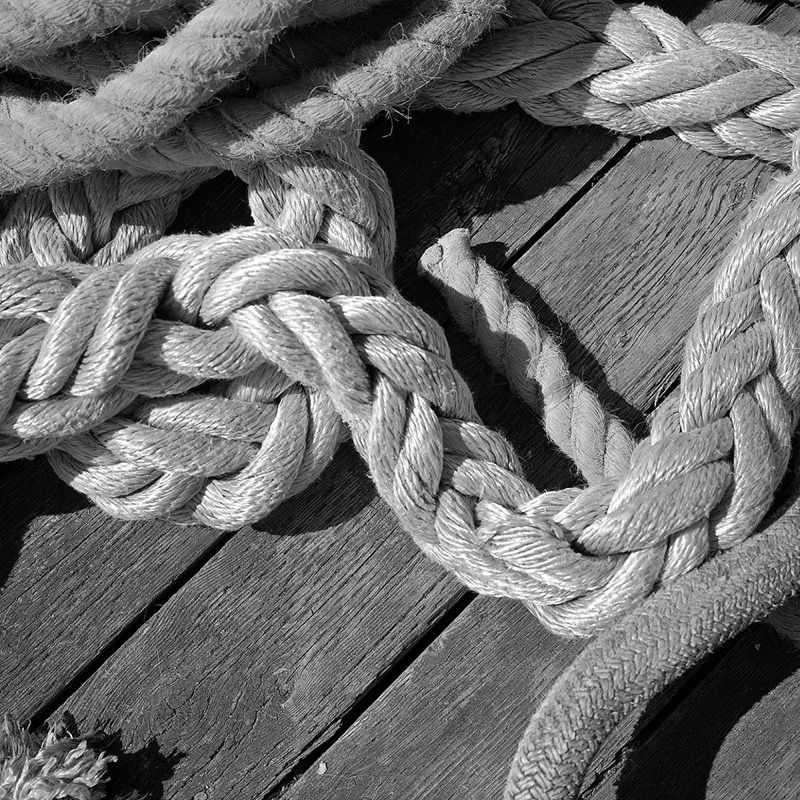 Rope three ways, Halifax Harbour
