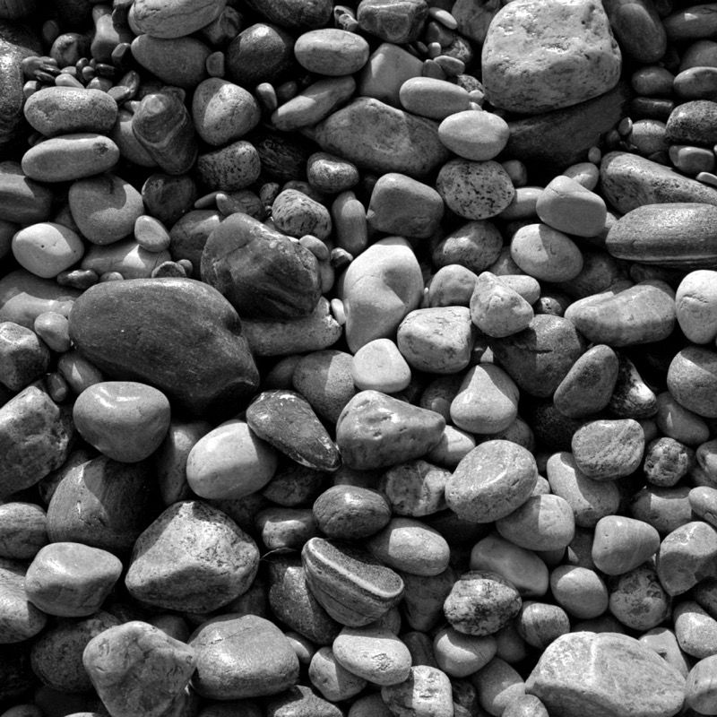 Beach stones, Whitby harbour