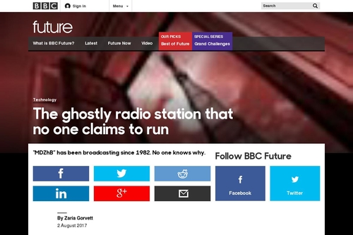 BBC - Future - The ghostly radio station that no one claims to run