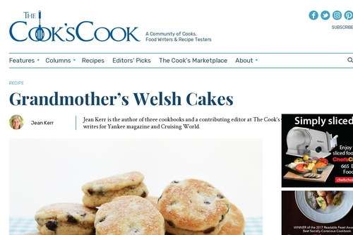 Grandmother's Welsh Cakes - The Cook's Cook