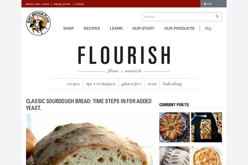 Classic Sourdough Bread - Flourish - King Arthur Flour