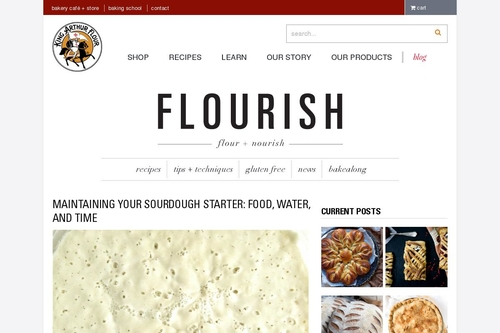 Maintaining your sourdough starter: food, water, and time - Flourish - King Arthur Flour