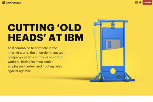 Cutting 'Old Heads' at IBM