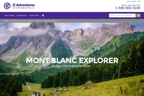 Mont Blanc Explorer in France, Europe - G Adventures
