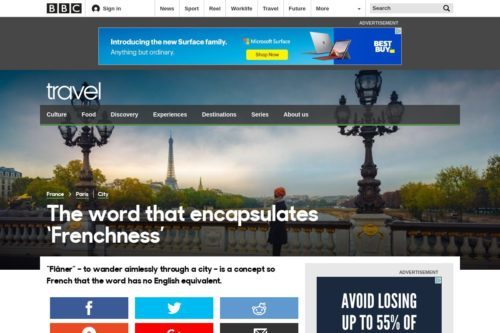 BBC - Travel - The word that encapsulates 'Frenchness'