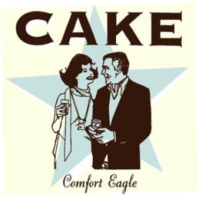 Album cover for Comfort Eagle by Cake