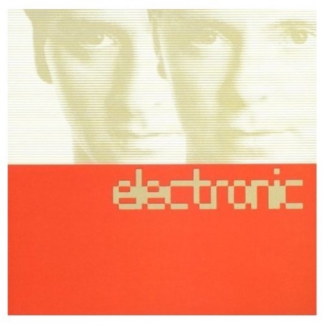 Album cover for Electronic by Electronic