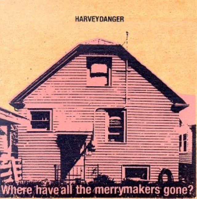 Album cover for Where Have All the Merrymakers Gone? by Harvey Danger