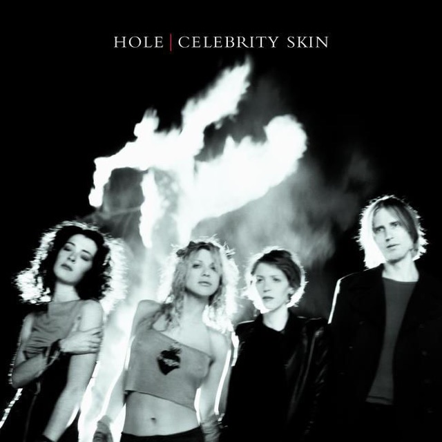 Album cover for Celebrity Skin by Hole
