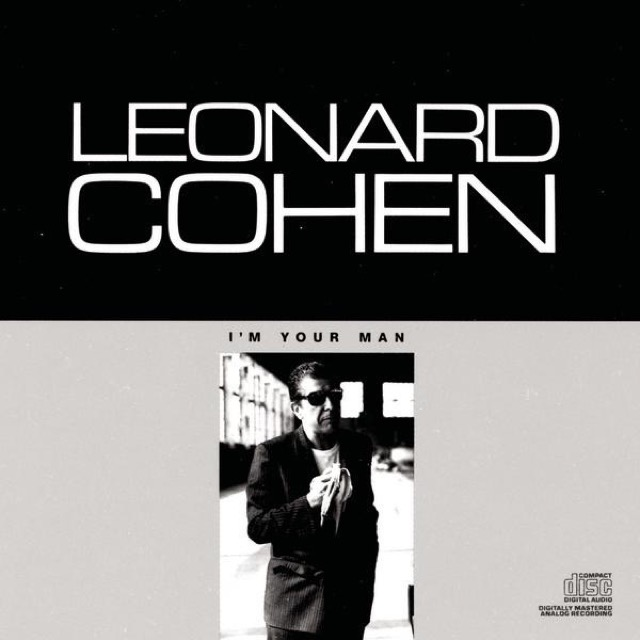 Album cover for I'm Your Man by Leonard Cohen