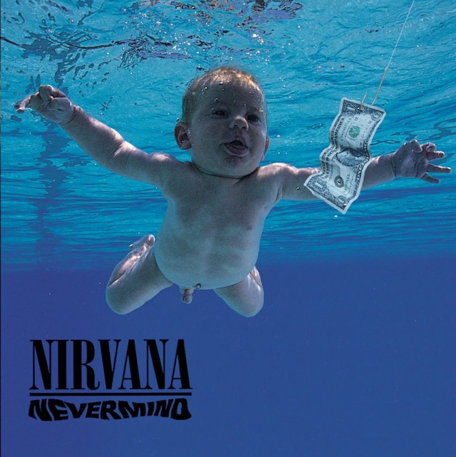 Album cover for Nevermind by Nirvana