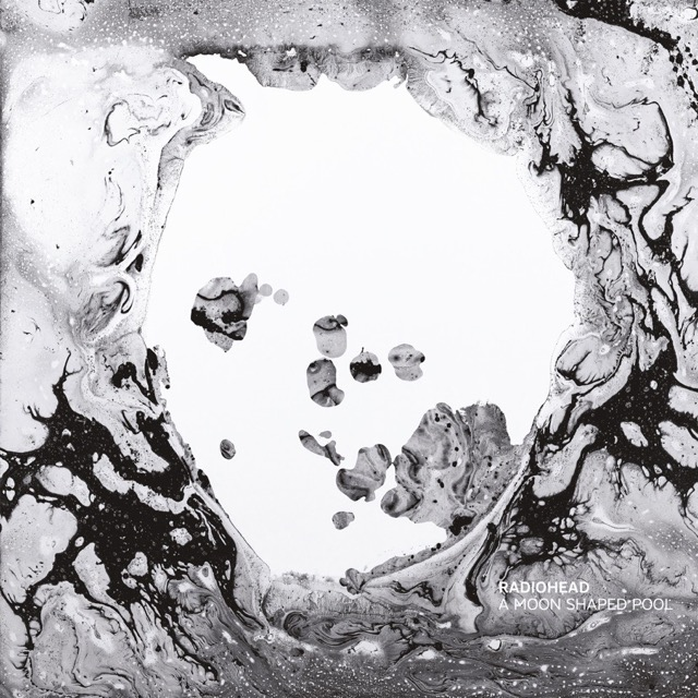 Album cover for A Moon Shaped Pool by Radiohead