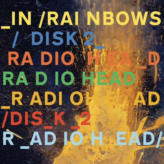 Album cover for In Rainbows Disk 2 by Radiohead