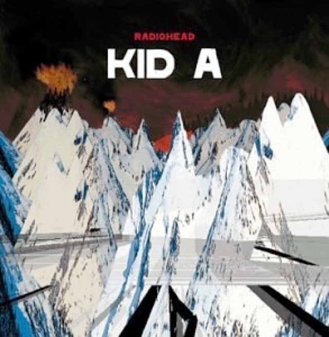 Album cover for Kid A by Radiohead