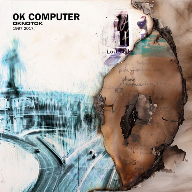 Album cover for OK Computer OKNOTOK 1997 2017 by Radiohead