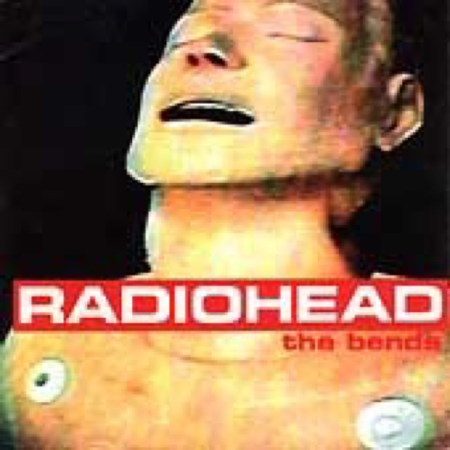 Album cover for The Bends by Radiohead