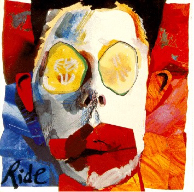 Album cover for Going Blank Again by Ride