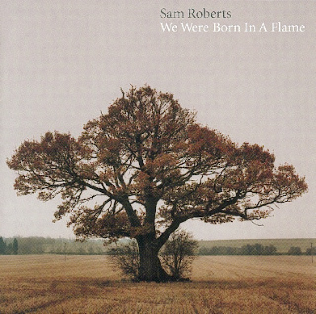 Album cover for We Were Born In A Flame by Sam Roberts