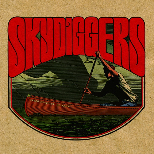 Album cover for You Sparkle Silver by Skydiggers