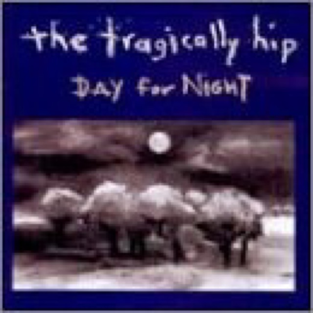 Album cover for Day for Night by The Tragically Hip