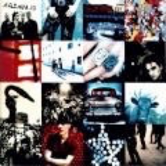 Album cover for Achtung Baby by U2