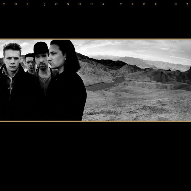 Album cover for Joshua Tree by U2