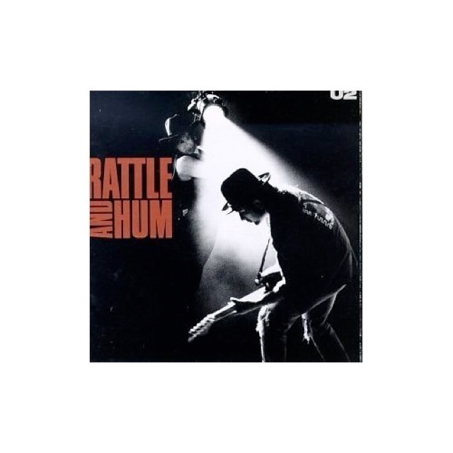 Album cover for Rattle And Hum by U2