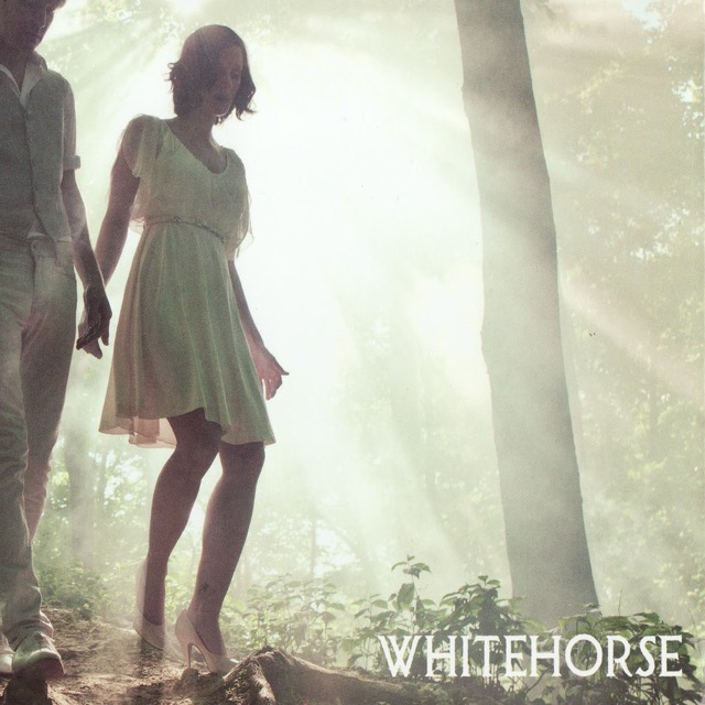 Album cover for Whitehorse by Whitehorse